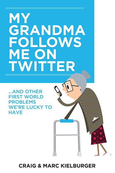 My grandma follows me on Twitter - Craig Kielburger
